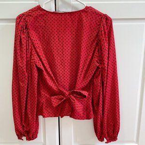 9/10 zara blouse